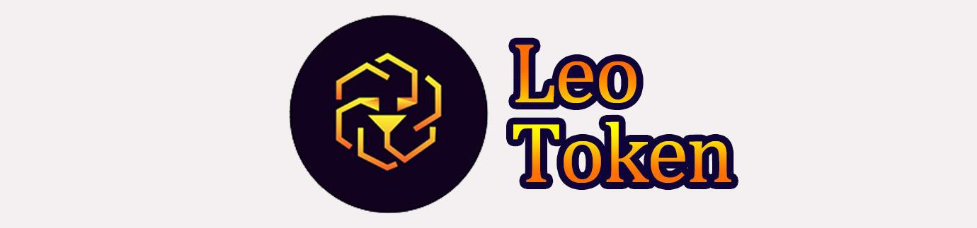 LEO tokenロゴ